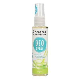 Desodorante Aloe Vera Pulverizador Benecos - 75 ml.
