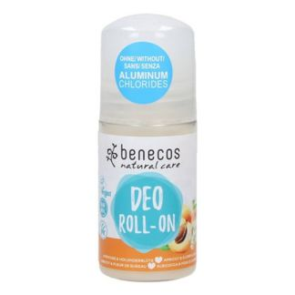 Desodorante Albaricoque y Saúco Roll-On Benecos - 50 ml.