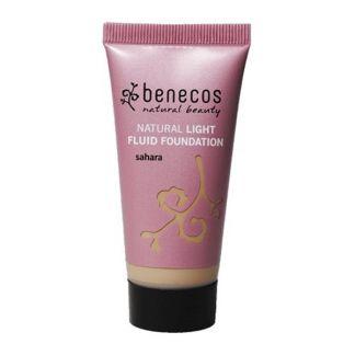 Base de Maquillaje Fluido Sahara Benecos - 30 ml