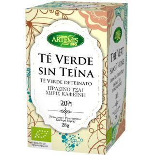 Té Verde Sin Teína Bio Artemis Herbes del Molí - 20 bolsitas