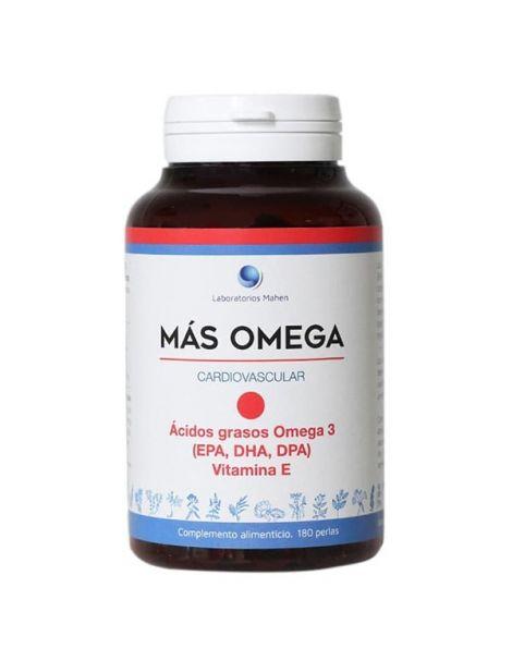 Más Omega Punto Rojo Mahen - 180 perlas