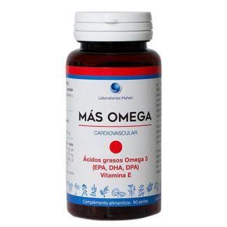 Más Omega Punto Rojo Mahen - 90 perlas