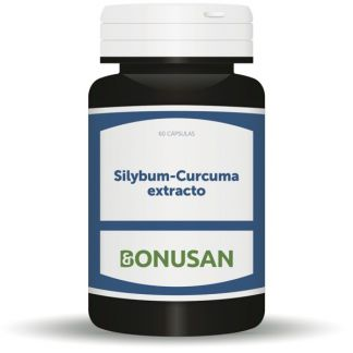 Silybum-Cúrcuma Extracto Bonusan - 60 cápsulas