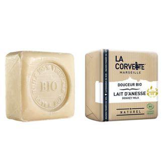 Jabón de Leche de Burra Bio La Corvette - 100 gramos