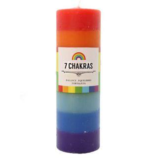 Velón 7 Chakras