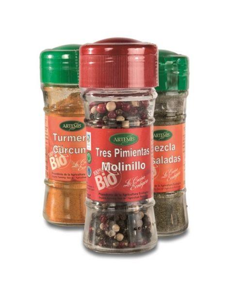Sazonador Carne Bio Artemis Herbes del Molí - frasco de 45 gramos