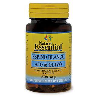 Espino Blanco + Ajo + Olivo Nature Essential - 50 perlas