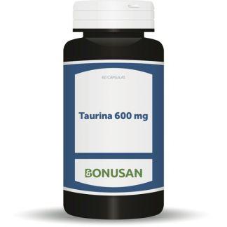 Taurina 600 mg. Bonusan - 60 cápsulas