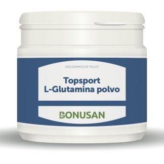 Topsport L-Glutamina Polvo Bonusan - 200 gramos