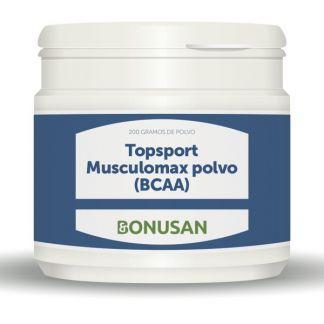Topsport Musculomax (BCAA) Polvo Bonusan - 200 gramos