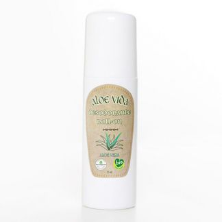 Desodorante Roll-On Bio Activo de Aloe Vera Aloe Vida - 70 ml.