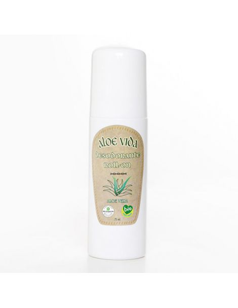 Desodorante Roll-On Bio Activo de Aloe Vera Aloe Vida - 70 ml.
