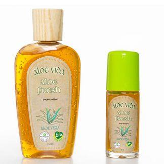 Gel Aloe Fresh Piernas Cansadas Aloe Vida - 250 ml.