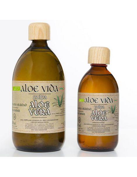 Pulpa de Aloe Vera Aloe Vida - 500 ml.