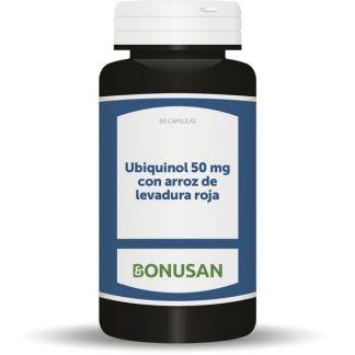 Ubiquinol 50 mg. Bonusan - 60 cápsulas