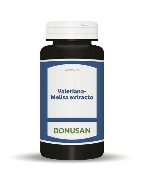 Valeriana-Melisa Extracto Bonusan - 60 cápsulas