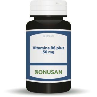 Vitamina B6 Plus 50 mg. Bonusan - 60 cápsulas