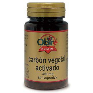 Carbón Vegetal Obire - 60 cápsulas