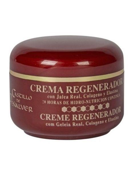 Crema Regeneradora de Jalea Real, Colágeno y Elastina Castillo de Peñalver - 100 ml.