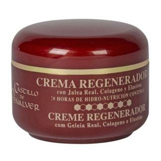 Crema Regeneradora de Jalea Real, Colágeno y Elastina Castillo de Peñalver - 50 ml.