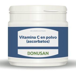 Vitamina C en Polvo Ascorbatos Bonusan - 250 gramos