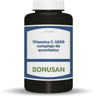 Vitamina C-1000 Ascorbatos Bonusan - 200 tabletas