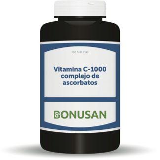 Vitamina C-1000 Ascorbatos Bonusan - 200 tabletas