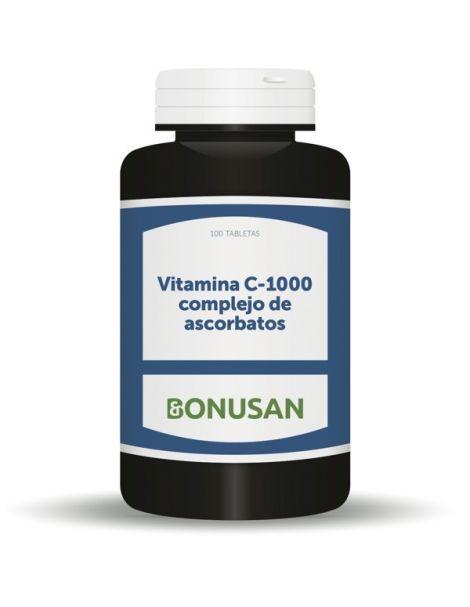 Vitamina C-1000 Ascorbatos Bonusan - 100 tabletas