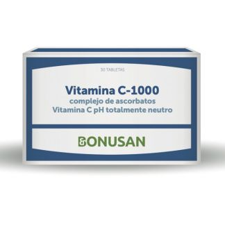 Vitamina C-1000 Ascorbatos - Blíster Bonusan - 30 tabletas