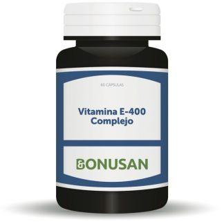 Vitamina E-400 Complejo Bonusan - 60 cápsulas