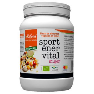 Kifood Sport Ener Vital para Mujer en Perlas - 500 gramos