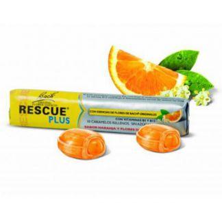 Caramelos Rescue Plus Vitaminas Dr. Bach - 42 gramos