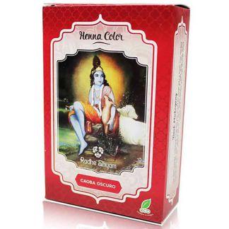 Henna Polvo Caoba Oscuro Radhe Shyam - 100 gramos