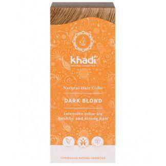 Tinte Rubio Oscuro Ceniza Khadi - 100 gramos