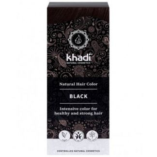 Tinte Negro Khadi - 100 gramos
