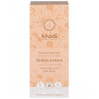 Henna Cassia Neutra Khadi - 100 gramos