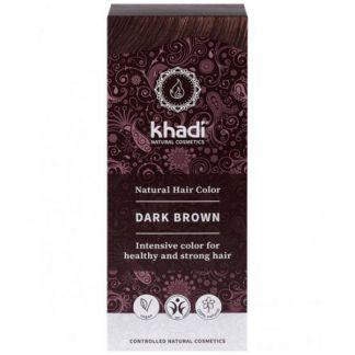 Tinte Castaño Oscuro Khadi - 100 gramos