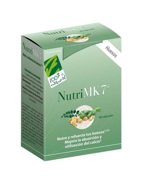 NutriMK7 Huesos Cien por Cien Natural - 60 perlas