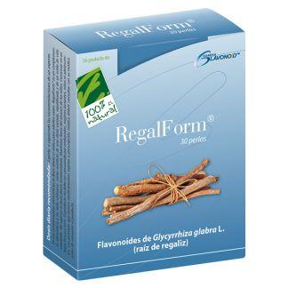 RegalForm Cien por Cien Natural - 30 perlas