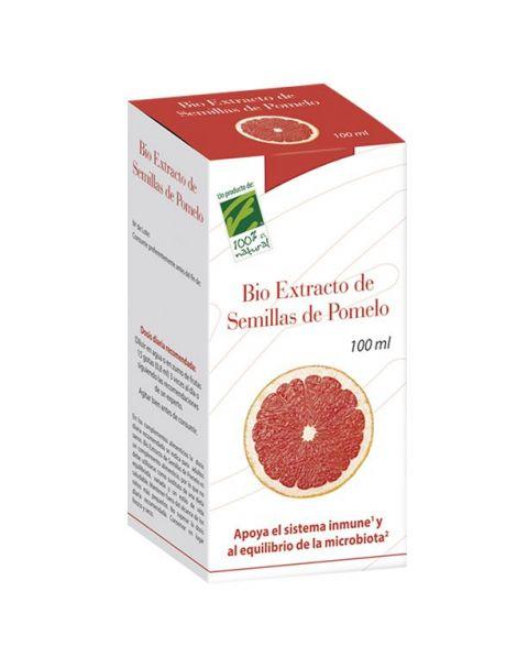 Bio Extracto de Semillas de Pomelo Cien por Cien Natural - 100 ml.
