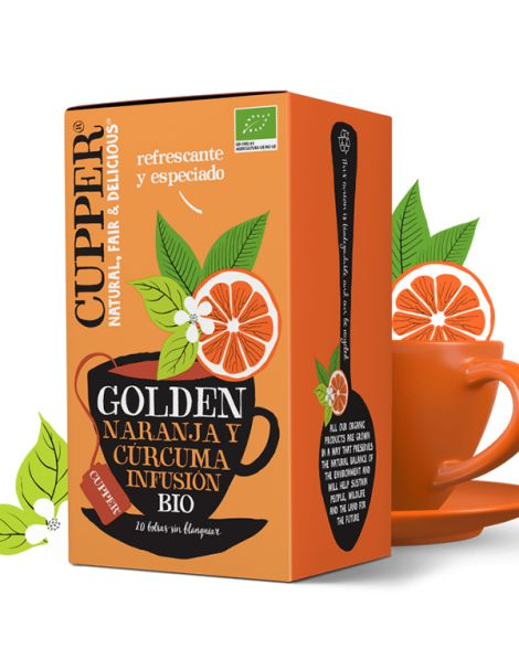 Golden Secrets Infusión Bio Cupper - 20 bolsitas