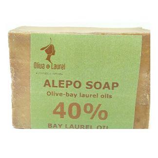 Jabón de Alepo 40% Oliva y Laurel - 200 gramos