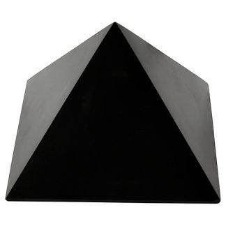 Pirámide de Shungit - 5x5 cm.
