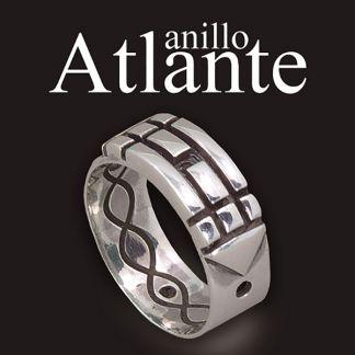 Anillo Atlante Plata de Ley 925