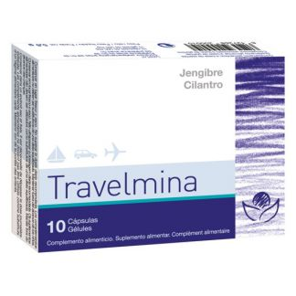 Travelmina Bioserum - 10 cápsulas