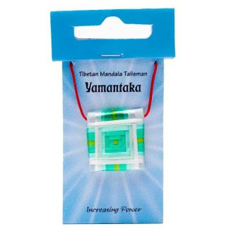 Amuleto Tibetano Sungkhor Yamantaka (Aumento de Energía)