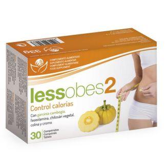Lessobes 2 Control Calorías Bioserum - 30 comprimidos