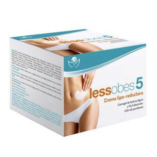 Lessobes 5 Crema Lipo-Reductora Bioserum - 200 ml.