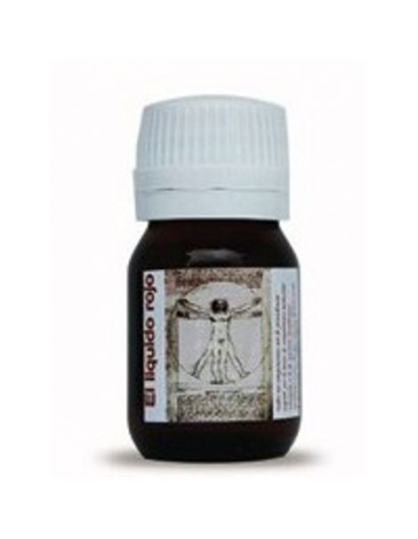 Líquido Rojo Piabeli - 60 ml.