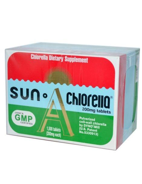 Sun Chlorella A - 1500 comprimidos